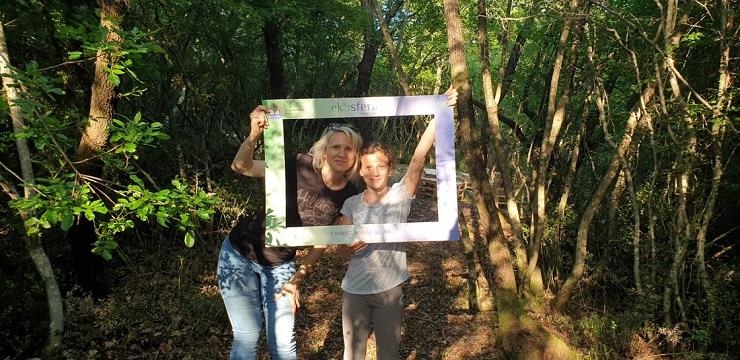 Eko-oaza kraj Poreča dobila učionicu na otvorenom od recikliranih paleta